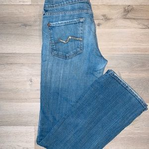 Vintage bootcut for all mankind jeans